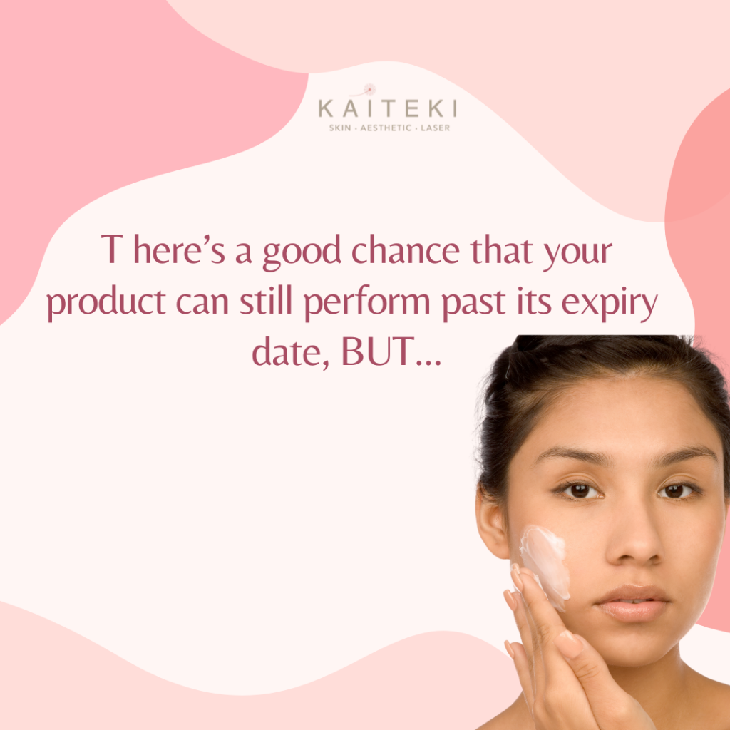 Avoid Using Expired Products