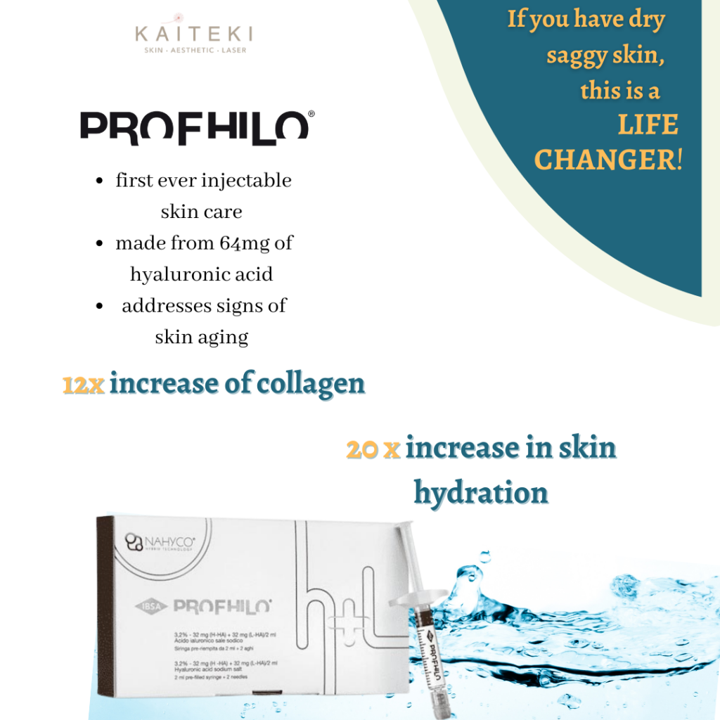 Profhilo high concentration hyaluronic acid