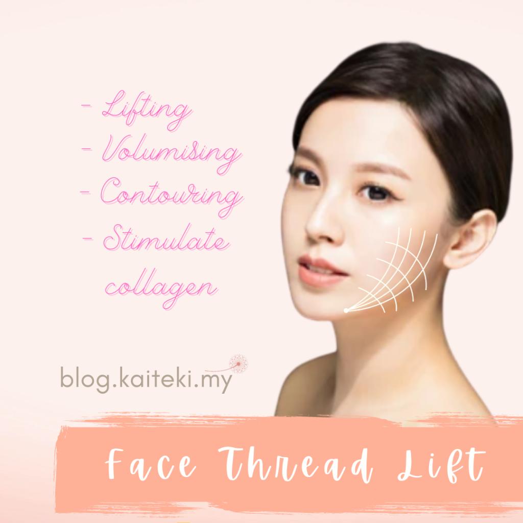 face thread lift kaiteki